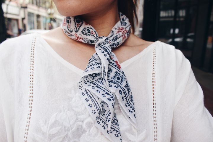 Ways to Style: Neck Scarves