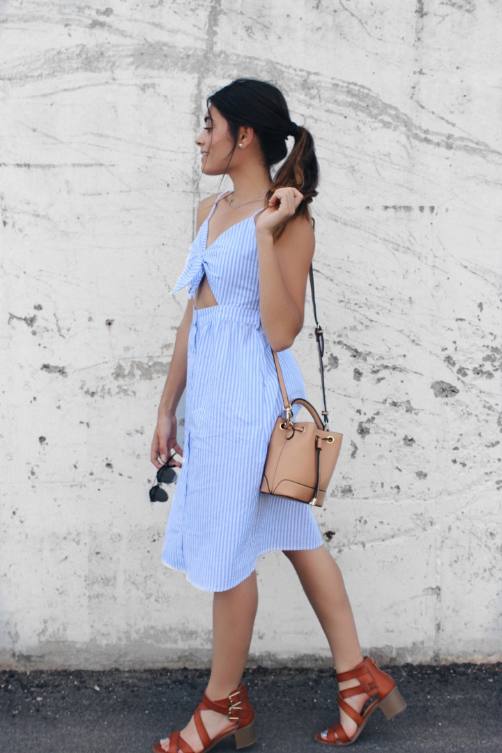 Pinstripe Dress!