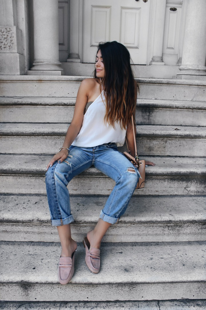 The perfect pair of boyfriend jeans