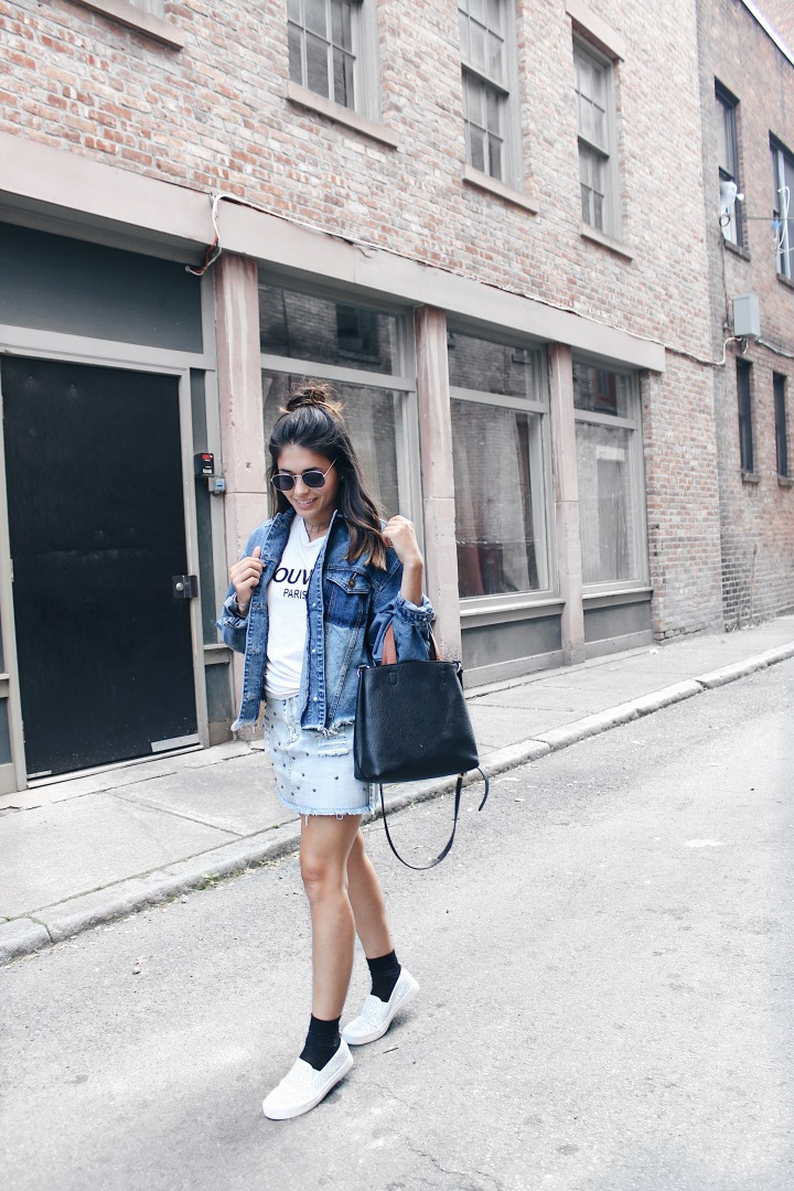 Denim on Denim!