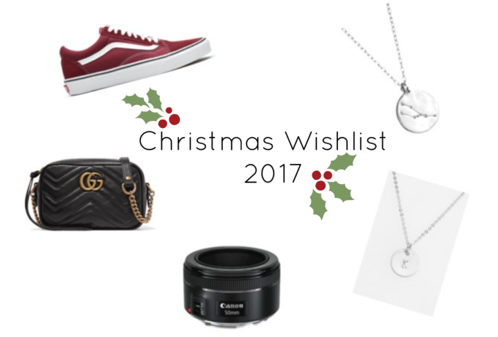 Christmas Wishlist 2017!