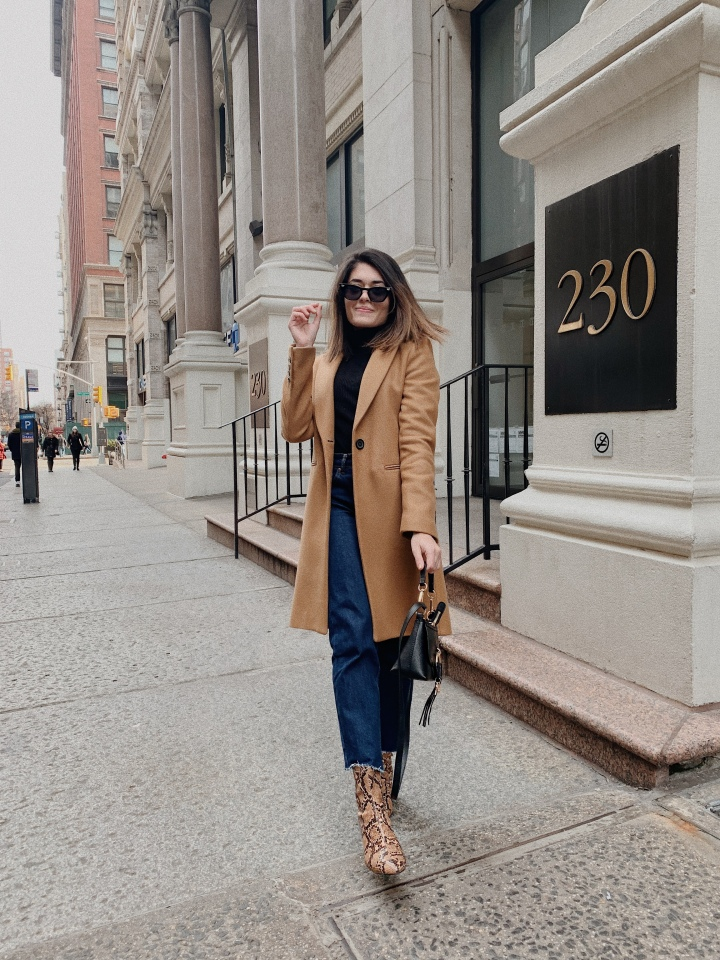 The Timeless Camel Coat